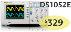 DS1052E Digital Oscilloscope