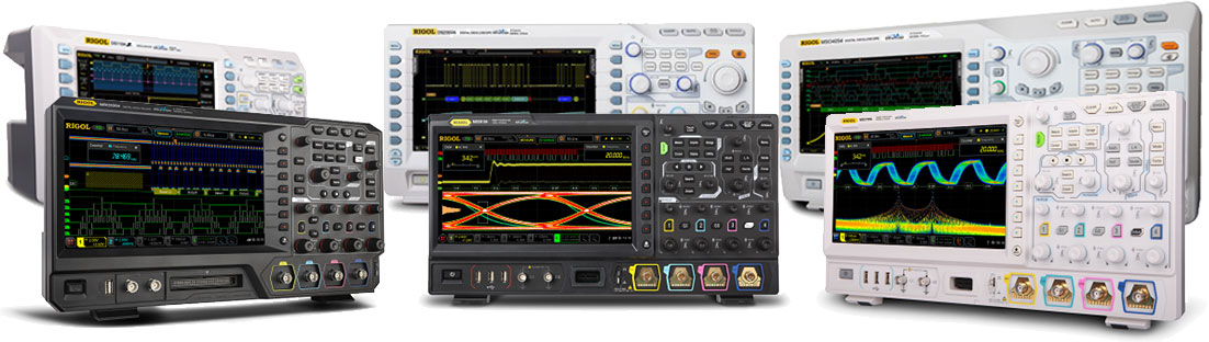 RIGOL Digital Oscilloscopes Compare RIGOL's UltraVisionII