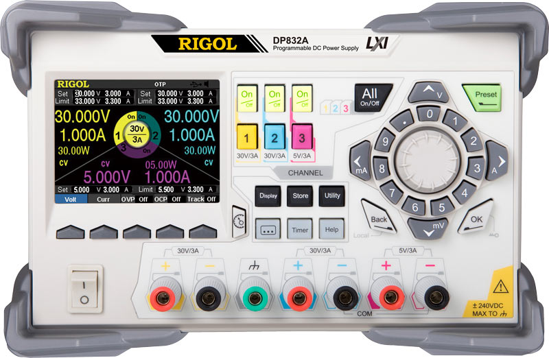 DC Power & Loads DC Power Supply & Electronic Load Families | RIGOL