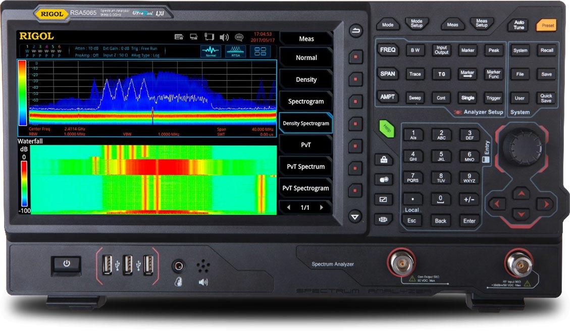 RSA5000 Real-Time Spectrum Analyzers | RIGOL