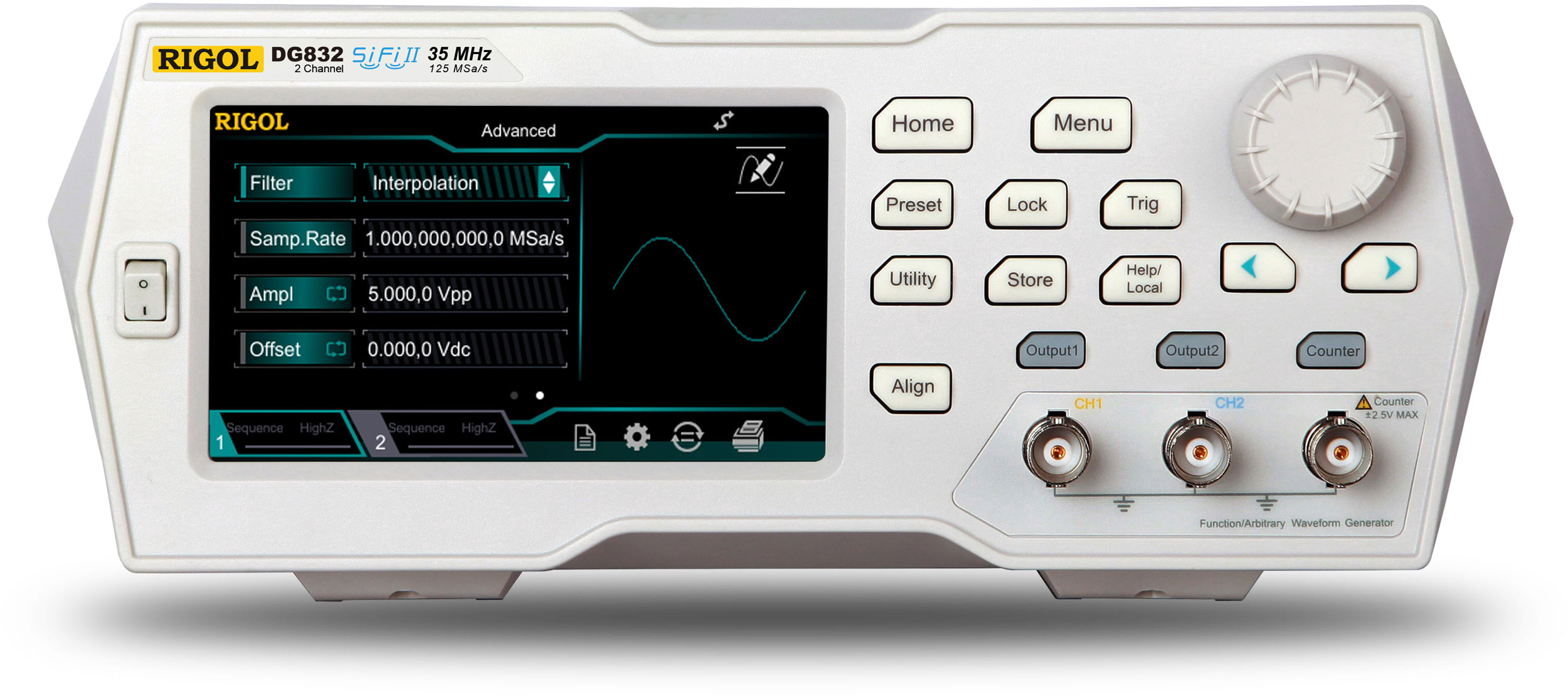 Waveform Generators Rigol Technologies Innovation Or Nothing Audio Signal Generator Freeware Dg800