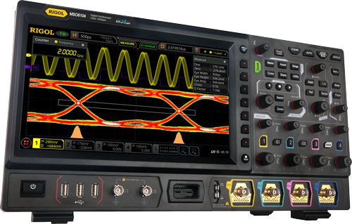 RIGOL Announces New 2 GHz MSO8000 Series Digital Oscilloscope