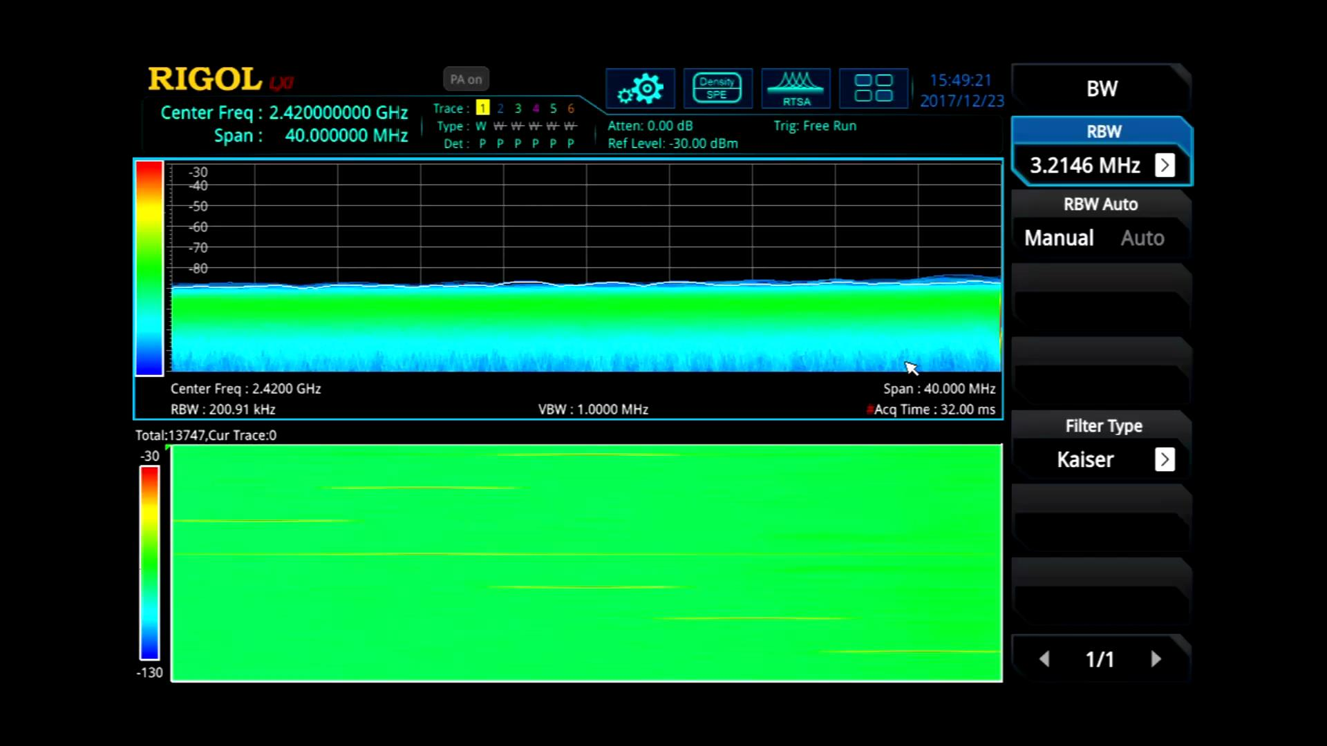 Real Time Spectrum Analysis Product Tour Rf Multi Measurement Signal Analyzer